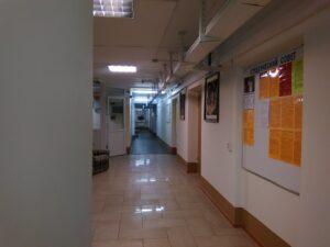 Фото 5. Холл общежития (1 этаж)
