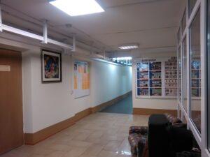 Фото 4. Холл общежития (1 этаж)